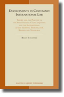 Developments in Customary International Law by Birgit Schlutter