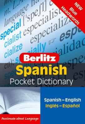 Berlitz: Pocket Spanish Dictionary book
