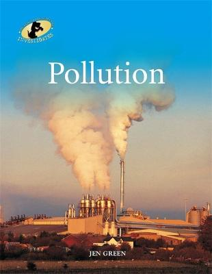 Geography Detective Investigates: Pollution book