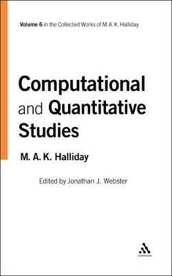 Computational and Quantitative Studies by M. A. K. Halliday