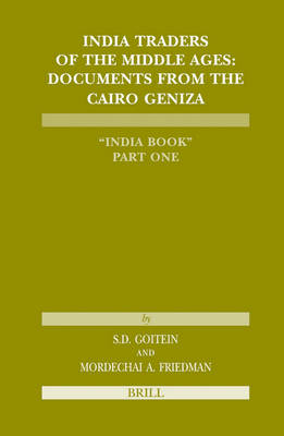 India Traders of the Middle Ages by S. D. Goitein