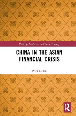 China in the Asian Financial Crisis book