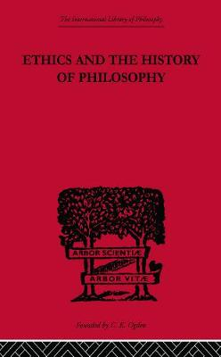 Ethics and the History of Philosophy: Selected Essays book