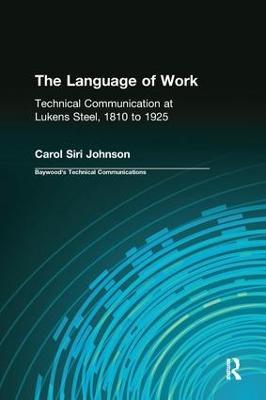 The Language of Work by Carol Siri Johnson