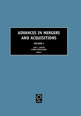 Advances in Mergers and Acquisitions by Cary L. Cooper
