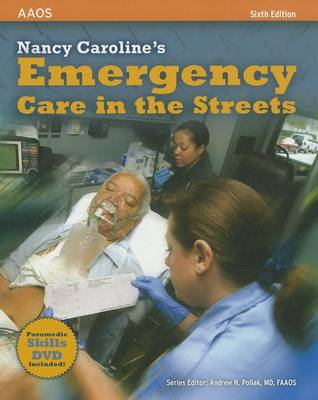 Nancy Caroline's Emergency Care in the Streets by American Academy of Orthopaedic Surgeons (AAOS)