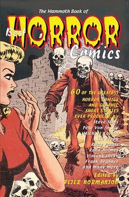 Mammoth Book of Best Horror Comics by Peter Normanton