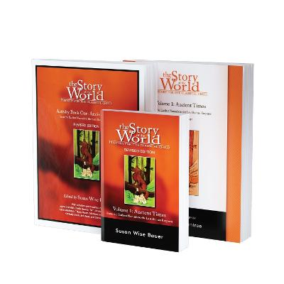 Story of the World, Vol. 1 Bundle: History for the Classical Child: Ancient Times; Text, Activity Book, and Test & Answer Key by Susan Wise Bauer