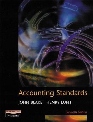 Accounting Standards by John Blake