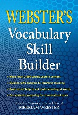 Webster's Vocabulary Skill Builder by Merriam-Webster