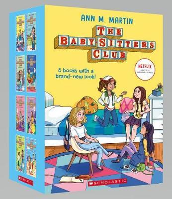 Baby-Sitters 1-8 Nf Boxed Set by Martin Ann M