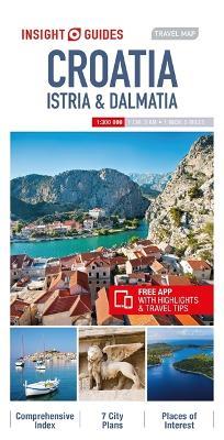 Insight Guides Travel Map Croatia Istria & Dalmatia by