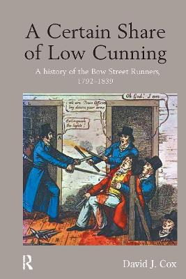 A Certain Share of Low Cunning by David J. Cox