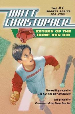 Return of the Home Run Kid by Matt Christopher