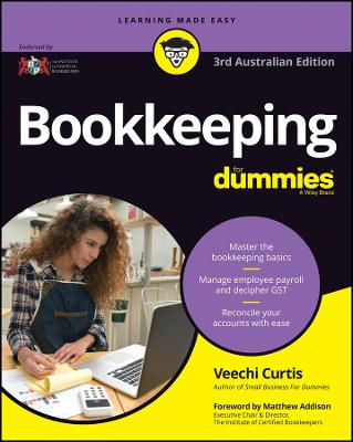 Bookkeeping for Dummies by Veechi Curtis