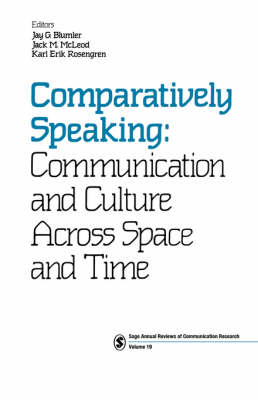 Comparatively Speaking by Jay G. Blumler