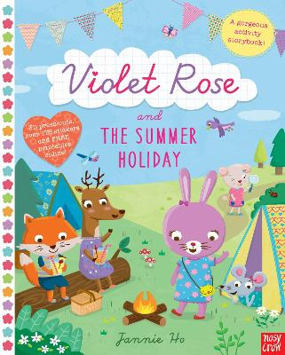Violet Rose and the Summer Holiday by Jannie Ho