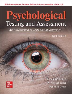 ISE Psychological Testing and Assessment book
