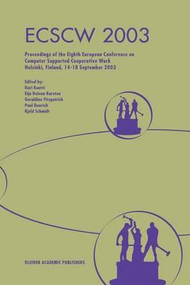 ECSCW 2003 by Paul Dourish