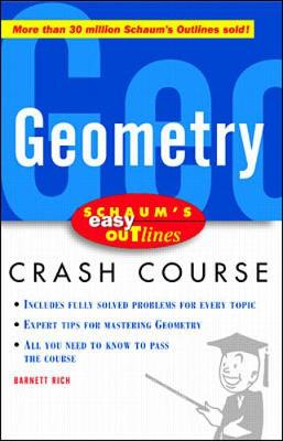 Schaum's Easy Outline of Geometry by Barnett Rich