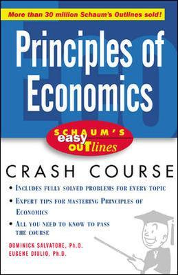 Schaum's Easy Outline of Principles of Economics by Dominick Salvatore