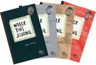 Wreck This Journal Bundle Set by Keri Smith