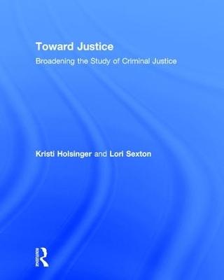 Toward Justice book