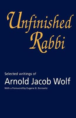 Unfinished Rabbi book