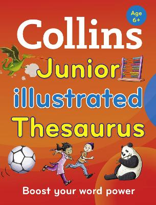 Collins Junior Illustrated Thesaurus book