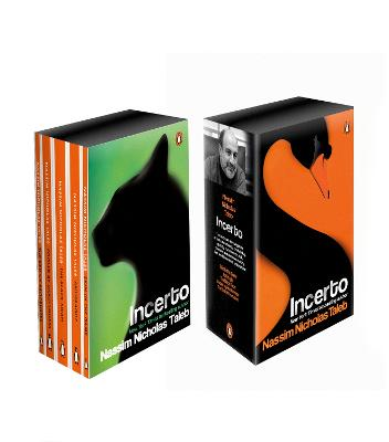 Incerto Box Set: Antifragile, The Black Swan, Fooled by Randomness, The Bed of Procrustes, Skin in the Game by Nassim Nicholas Taleb