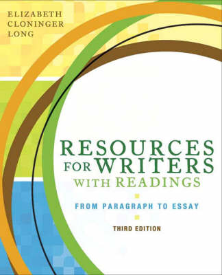 Resources for Writers with Readings book