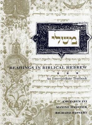 Readings in Biblical Hebrew by Ben Zvi Ehud