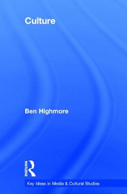 Culture by Ben Highmore