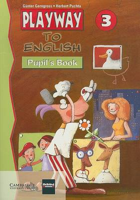 Playway to English 3 Pupil's book by Gunter Gerngross