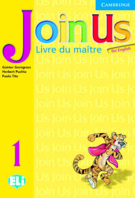 Join Us for English 1 Teacher's Book French edition book