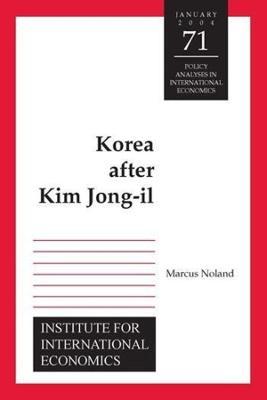 Korea after Kim Jong-Il by Marcus Noland