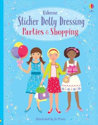 Sticker Dolly Dressing Parties and Shopping Girls book