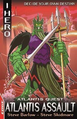 EDGE: I HERO: Quests: Atlantis Assault book