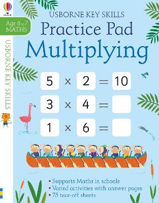 Multiplying Practice Pad 6-7 book