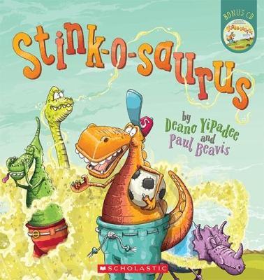 Stink-o-saurus by Deano Yipadee