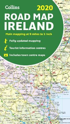 2020 Collins Map of Ireland by Collins Maps