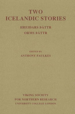 Two Icelandic Stories by Anthony Faulkes