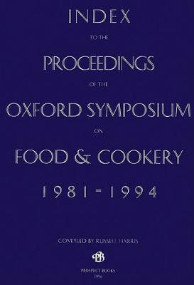 Index to the Proceedings of the Oxford Symposium, 1981-94 by Alan Davidson