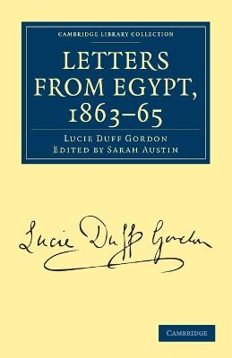 Letters from Egypt, 1863-65 book