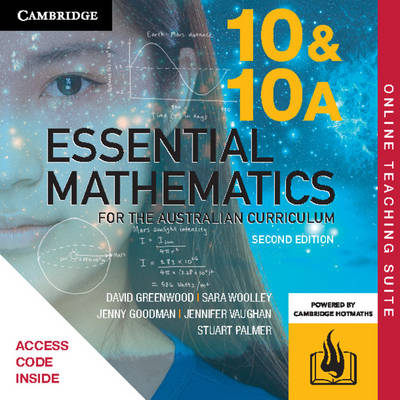 Essential Mathematics for the Australian Curriculum Year 10 Online Teaching Suite (Card) by David Greenwood