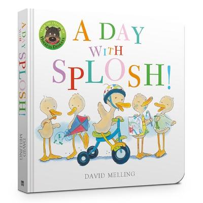 A Day with Splosh Board Book by David Melling