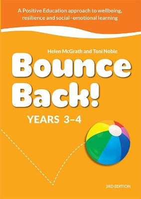 Bounce Back! Years 3-4 (Book with Reader+) by Helen McGrath