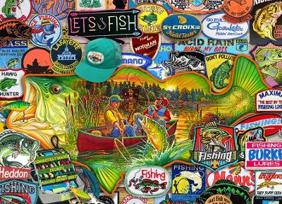Let's Fish Jigsaw book