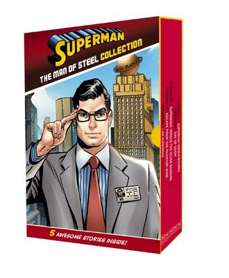 DC Comics: Superman: Man of Steel Collection (5 HB Readers) book