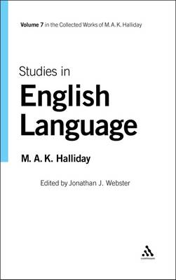 Studies in English Language by M. A. K. Halliday